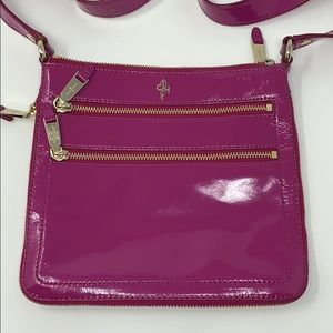 Cole Haan Sheila Pink Patent Leather Crossbody Bag